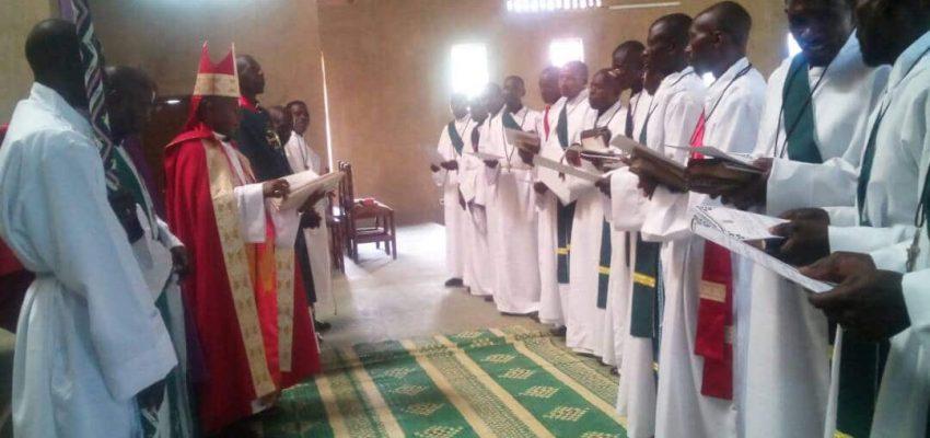 Deacon Ordination In Rwanda