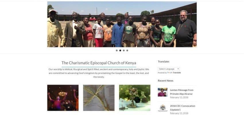 CEC Kenya Gets Updated Website
