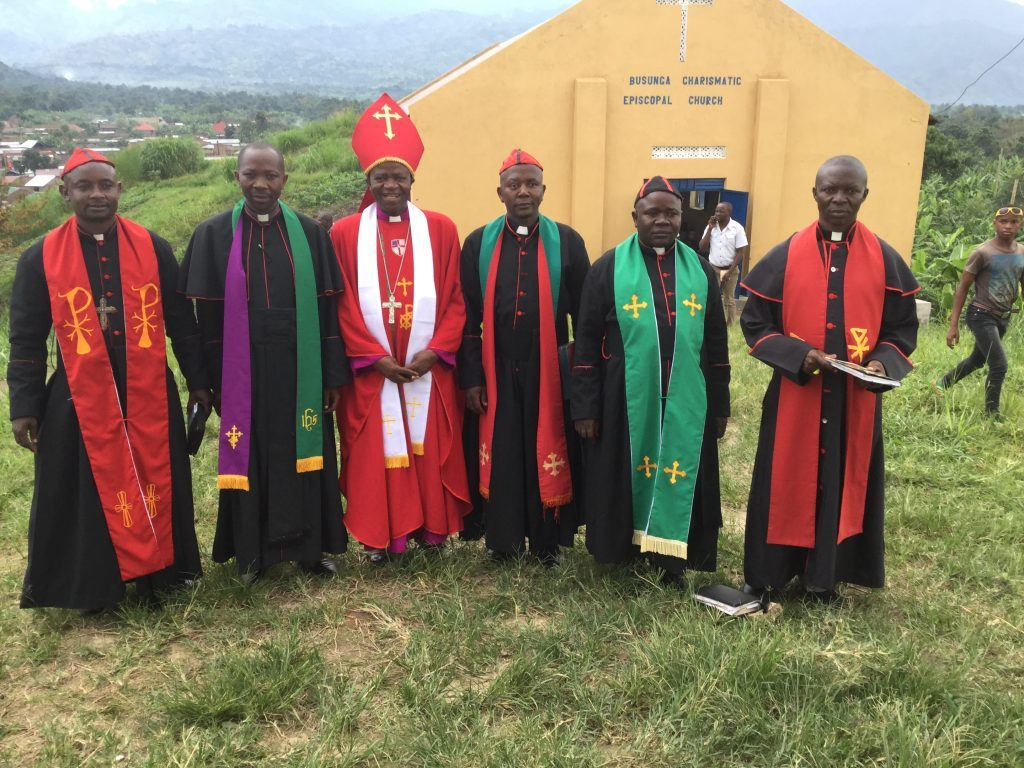 Bishop Hannington 41 years in Ministry